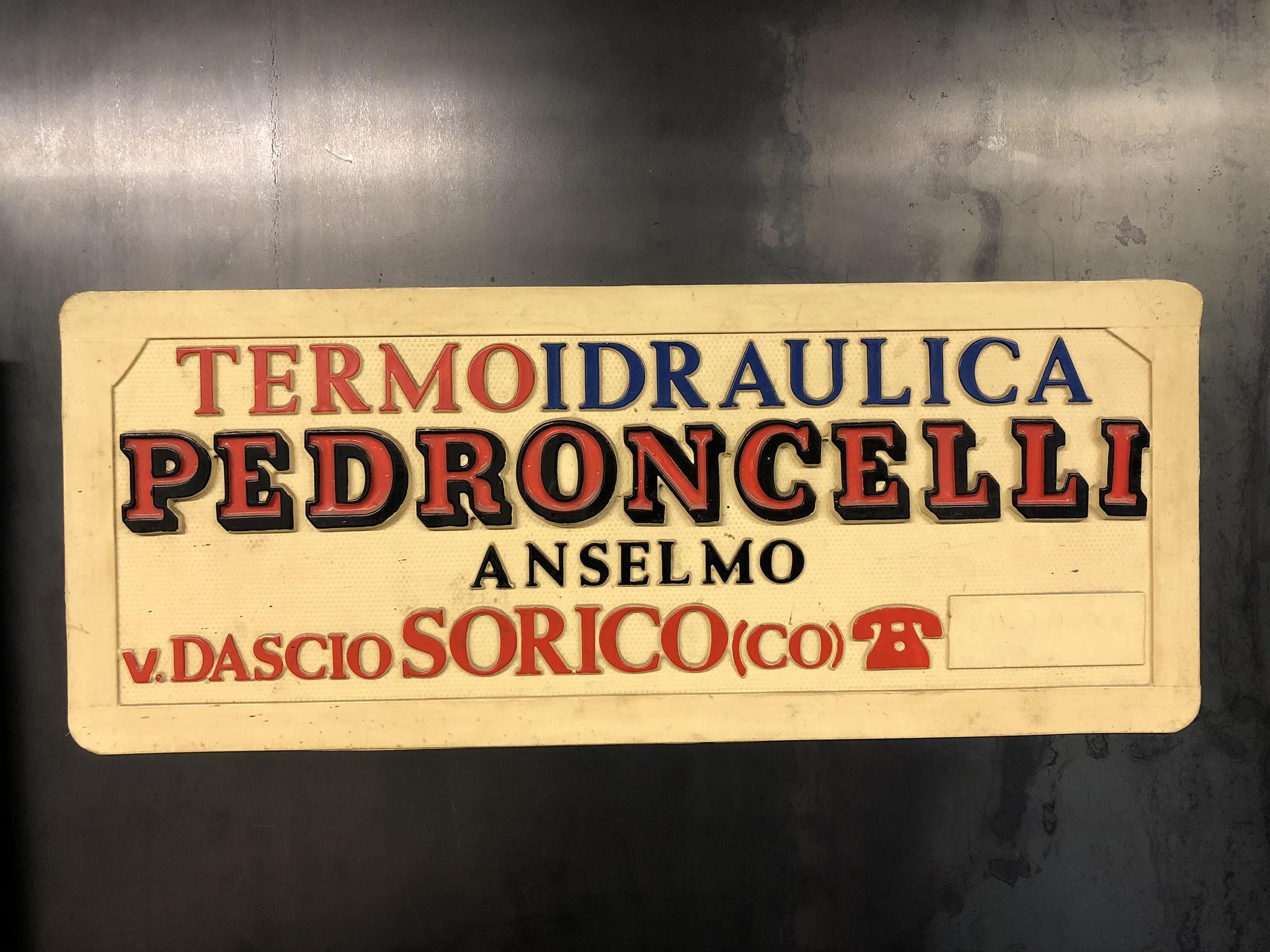 Vecchio logo Officine Pedroncelli SRL